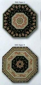 GIVE THANKS Autumn Sunflowers and Leaves TABLE TOPPER Fabric QUILT KIT MAKES 2