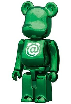 BEARBRICK SERIES 24 BASIC GREEN LETTER A @  - MEDICOM