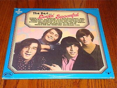 THE BEST OF THE LOVIN' SPOONFUL LP 2-RECORD SET ORIGINAL LP 1976