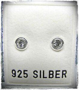 NEU-925-Silber-OHRSTECKER-OHRRINGE-mit-SWAROVSKI-STEINE-Kristallklar-klar