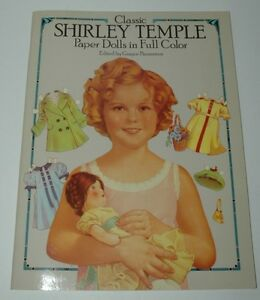 Shirley Temple Paper Dolls Full Color New USA