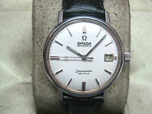 EXTREMELY-RARE-OMEGA-AUTOMATIC-SEAMASTER-DE-VILLE-WATCH-SWISS-SHIP-DHL-CALIB-560