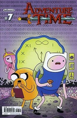 Adventure Time #7 VF/NM with finn & jake 2012 KABOOM cover 7A variant A boom