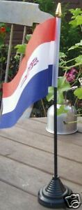 Old-Style-South-African-Desk-Top-Flag-RSA-Afrikaner-White-Rule-Afrikaans-bn