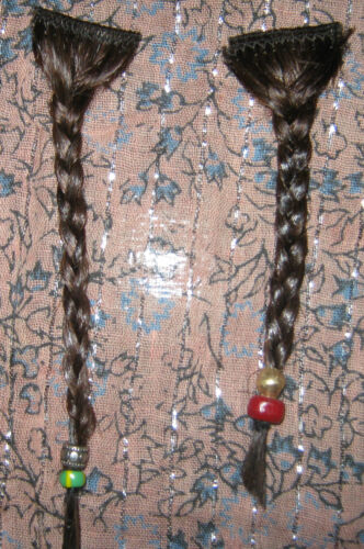 Jack Sparrow Pirate Captain Beard Braids Screen Accurate Authentic Trade Beads