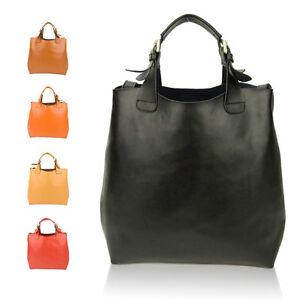 Women-Genuine-Leather-Large-Tote-Bag-Designer-Handbag-Shoulder-Cabas-Shopper