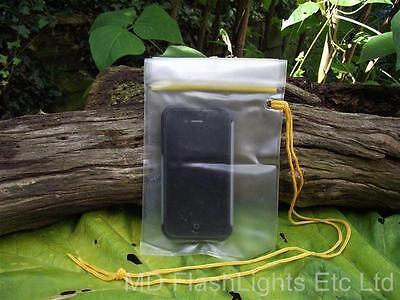 13CM X 18 CM WATERPROOF BAG IDEAL FOR MOBILE PHONES TINDER BUSHCRAFT CAR KEYS