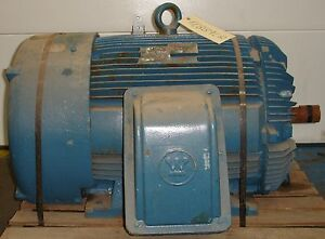 New high efficiency ac electric motor 200 hp 11889lr ebay for 300 hp ac electric motor