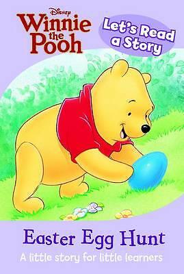 """AS NEW"" Parragon Book, Lets Read a Story - Easter Egg Hunt (Disney Mini Read a"