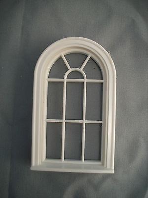Half Scale 1:24  Victorian  Round Top Window Jackson's Miniatures Dollhouse #L13
