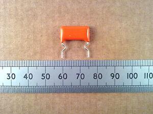 Metallised-Polyester-368-Capacitor-10-400V-Orange-Drop-Plastic-Film-Cap