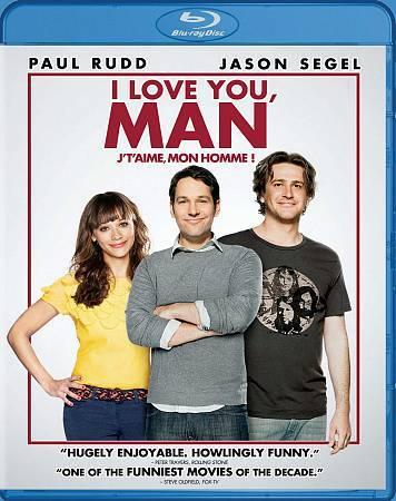I Love You, Man (Blu-ray Disc, 2009, Canadian)
