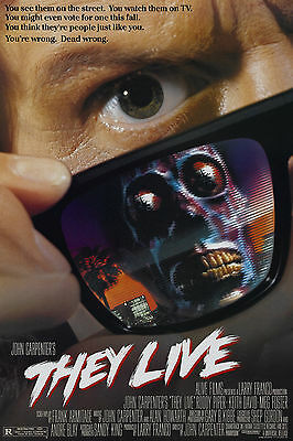 THEY LIVE Movie Poster 1988
