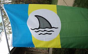 JIMMY-BUFFETT-WELCOME-TO-FIN-LAND-FLAG-3x5-nylon-CINCINNATTI-PITTSBURGH-CHICAGO