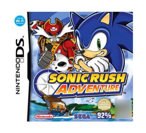 Sonic Rush Adventure - Nintendo DS - Used