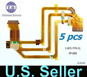 5x-SONY-HDR-HC5-HC7-HC9-SR10-SR220-E-LCD-Flex-Cable-FP-659-1-871-774-11-OEM-new