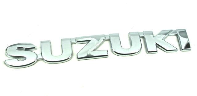 Genuine New SUZUKI REAR BADGE Emblem For Swift 2005+ & SX4 2006+ DDiS VVT 4X4