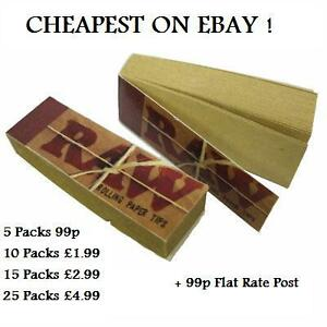Raw-Natural-Roach-Tips-Cheapest-On-Ebay-Use-With-King-Size-Rizla-Zig-Zag-Filters