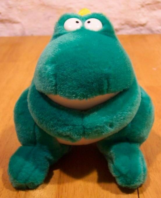 GUND Sandra Boynton FROG PRINCE 8  Plush Stuffed Animal