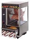 Star Manufacturing International Star 174SBA Broil-O-Dog 24 Hot Dog Broiler w/ 12 Bun Warmer