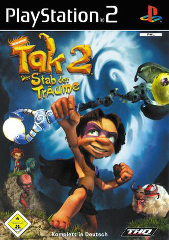 Tak 2 - Der Stab der Träume (Sony PlayStation 2, 2006, DVD-Box) neuwertig