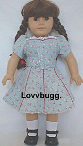 Forties garden dress for 18 inch doll clothes repro for Garden tools for 18 inch doll