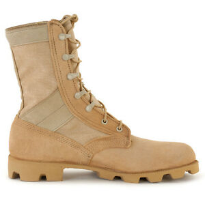 ALTAMA-MILITARY-Desert-JUNGLE-BOOTS-Milspec-Leather-Canvas-Sizes-7-13-Reg-Wide