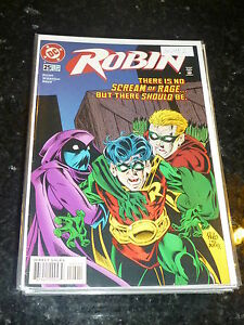 ROBIN-No-25-Date-02-1996-DC-Comic-039-s-Direct-Sales-Edition