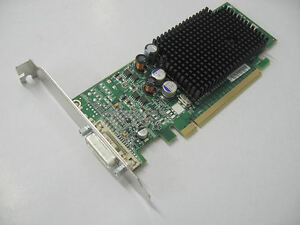 Dell-P-N-F9595-ATI-Radeon-X600-X-600-SE-128MB-PCI-e-DMS-59-Graphics-Card-New