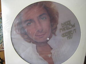 BARRY-MANILOW-GREATREST-HITS-ORIGINAL-ARISTA-RECORDS-PICTURE-DISC-Sealed-2LP-SET