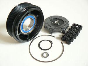 Klimakompresso<wbr/>r Riemenscheibe Mercedes W163 C209 C219 NEU - (Ø 105 mm)
