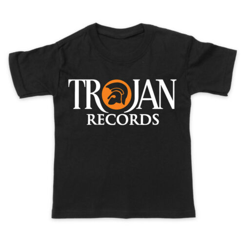 Boys // Girls T-Shirt - ska reggae roots dub TROJAN RECORDS 3-15 yrs