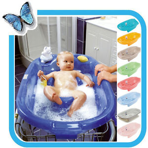 ok baby high quality anatomical baby bath onda 0 12 months different colours ebay. Black Bedroom Furniture Sets. Home Design Ideas