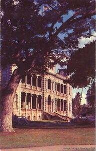 HONOLULU-HI-1961-Iolani-Palace-State-Government-Offices-of-New-50th-State-GEM