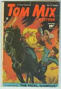 Tom-Mix-Western-21-September-1949-VG-The-Fatal-Handout