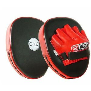 Muay-Thai-MMA-Boxing-Kick-Punching-Pads-Hand-Targets-Focus-Training-Gear-Mitts