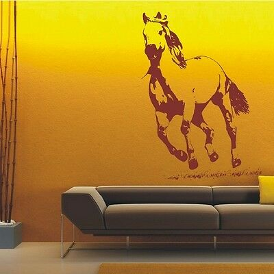 Top Design Horse Wall Art Sticker, Horse Wall Sticker Decals - PD200