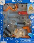 Just Kidz 13 Pc Kidz Play Toy Set Tool Kid Boys Educational Pretend Play Work Drill Game - 0023207012