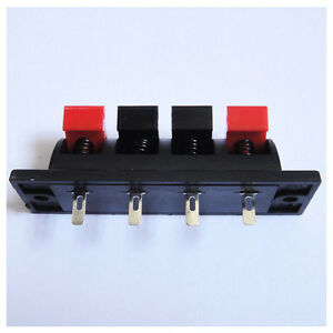 5-X-4-Wire-Clamp-Connector-For-Single-Color-5050-3528-Led-Lights-Strip