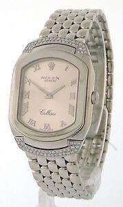 ROLEX-Cellini-Cellissima-Ladies-White-Gold-Pink-Dial-Diamond-Watch-6692