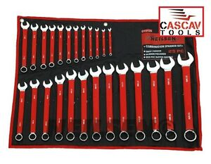GOOD-QUALITY-25PC-SPANNER-SET-6-32mm-PVC-DIPPED-HANDLES-WITH-HEAVY-DUTY-POUCH