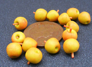 1-12-Scale-12-x-Cox-039-s-Apples-Dolls-House-Miniature-Fruit-Food-Kitchen-Accessory