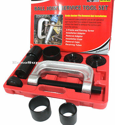 4 in1 Ball Joint Service 2 & 4WD Auto Repair Brake Anchor Pin Remover Installer