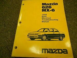 1996 Mazda 626 Mx 6 Mx6 Body Electrical Service Repair