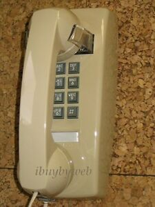 RETRO-ASH-PUSH-BUTTON-WALL-TELEPHONE-VINTAGE-PHONE-NEW