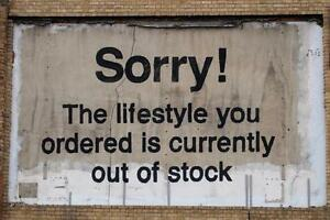 QUALITY-BANKSY-ART-PHOTO-PRINT-SORRY