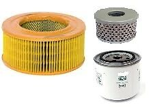 LISTER CANAL STAR 2 CYL MARINE FILTER KIT ELEMENT PAPER FUEL FILTER VERSION