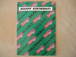 Team nfl birthday card by bernie kosar greeting card co made in image is loading team nfl birthday card by bernie kosar greeting bookmarktalkfo Gallery