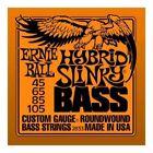Ernie Ball Hybrid Slinky Nickel Round Wound Electric Bass Guitar Strings Se