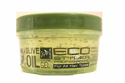 ECO STYLER OLIVE OIL STYLING HAIR GEL MAXIMUM HOLD  8 FL. OZ.